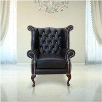 Designer Sofas 4 U - Chesterfield Crystal High Back Wing chair | DesignerSofas4U