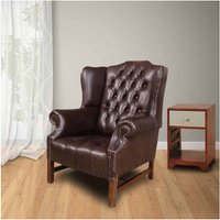 Chesterfield Hamilton High Back Wing Chair UK Manufactured