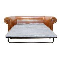 Designer Sofas 4 U - Chesterfield Hampton 2 Seater Sofa Bed Old English Bruciatto