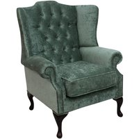 Chesterfield Mallory Flat Wing High Back Wing Chair