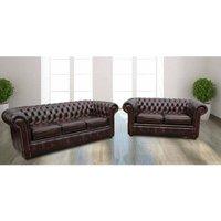 Designer Sofas 4 U - Chesterfield Sofa Suite London   Leather furniture DesignerSofas4U
