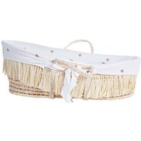 CHILDHOME Moses Basket Cover Jersey Hearts