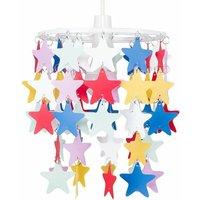 Minisun - ChildrenS Bedroom / Multi Coloured Stars Ceiling P