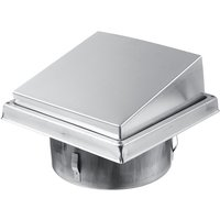 Augienb - Chimney Hood Bonnet Grille Cover Vent Ventilation Dia.150mm Pipe fitting