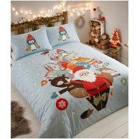 Portfolio - Christmas Bedding Fur Tree Duvet Cover Set - King