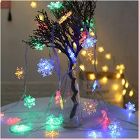 Zqyrlar - Christmas String Lights 12m Led String Lights Led String Lights For Christmas, Garden, Patio, Bedroom, Party, Indoor and Outdoor - Without