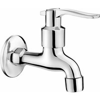 Deante - Chrome Plated Cold Water Garden Outdoor Tap 1/2 with Aerator and Adapter