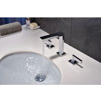 Kroos ® - Chrome-plated deck-mounted basin mixer tap - Titanania - KROOS®