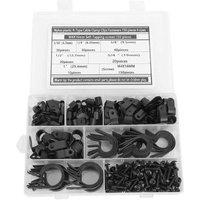 Clip Type R Black Fixing Screw Set. Screws for fixing various air conditioning cables