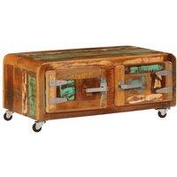 Coffee Table 85x55x40 cm Solid Reclaimed Wood - VIDAXL