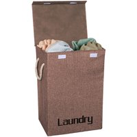 Collapsible Wash Laundry Basket Large Folding Clothes Hamper Bin Storage Bag