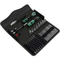 5135928001 Kraftform Kompakt H1 Metal Tool Set 39 Piece - Wera