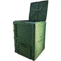 Composteur Gardiun New Organic 300 L 60x60x82 cm Polypropylène Recyclé