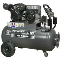 Sealey SAC3103B 100ltr Belt Drive Compressor 3hp with Front