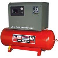 Sealey SAC72775BLN Compressor 270L Belt Drive 7.5hp 3ph 2-St