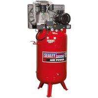 Sealey SACV52775B Compressor 270L Vertical Belt Drive 7.5hp