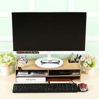 Computer Monitor Riser Desk Table Laptop Stand Shelf Notebook Display Holder