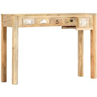Console Table 110x30x75 cm Solid Mango Wood - YOUTHUP