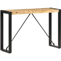 Zqyrlar - Console Table 110x35x76 cm Solid Mango Wood - Brown
