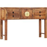 Vidaxl - Console Table 120x30x80 cm Solid Acacia Wood