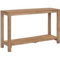 Zqyrlar - Console Table 120x35x75 cm Solid Teak Wood - Brown