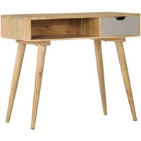 Console Table 89x44x76 cm Solid Mango Wood - Brown