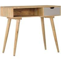 Console Table 89x44x76 cm Solid Mango Wood - Brown - Vidaxl