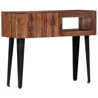 Console Table 90x30x75 cm Solid Sheesham Wood - VIDAXL
