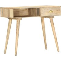Youthup - Console Table 90x45x75 cm Solid Mango Wood