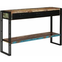 Console Table Solid Reclaimed Wood 120x30x76 cm - YOUTHUP