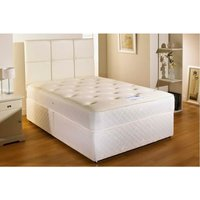 Cooltouch Sprung Memory Foam Divan bed No Drawer No Headboard Small Single - BED CENTRE