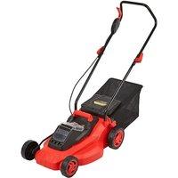 Cordless 36V Battery Lawnmower Garden Mower Grass Cutter 35L Bag BODY ONLY - TRUESHOPPING