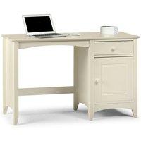 Single Pedestal Dressing Table Stone White - Cornelia