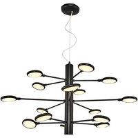 Cornet Hanging Lamp - Pendant Light - White, Made in Metal,
