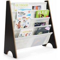 4 Tier Kids Baby Bookshelf Magazine Rack Book Storage Display Organizer Holder - Costway