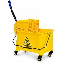 C Shape Industrial Side End Table Sofa Coffee Laptop Table Living Bedroom Wood - Costway
