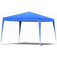 Tente de réception Tente Pavilion Pliable Chapiteau 3x3 m Tonnelle Jardin Imperméable - Costway