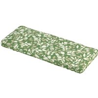 Glendale Leisure - Cotswold Leaf 3 Seater Bench Cushion