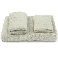 Mohoo - Cotton Super Soft Face Hand Bath Bathroom Towels Sheet Sets Cotton Towel Sets Baby Adults Shower Towel(lightgreen)