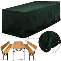 Weather and Tear-Resistant Protective Cover Beer Bench - DEUBA