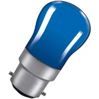 Lamps 15W Pygmy BC-B22d Dimmable Blue 7lm BC Bayonet B22 Incandescent Sign Coloured Outdoor External Festoon Light Bulb - Crompton