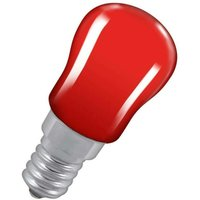 Lamps 15W Pygmy SES-E14 Dimmable Red SES Small Screw E14 Incandescent Sign Traditional Coloured Outdoor External Festoon Light Bulb - Crompton