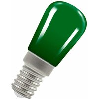 Crompton Lamps LED Pygmy 1.3W SES-E14 Coloured IP65 (15W Equivalent) Green 5lm SES Small Screw E14 Sign Festoon Outdoor Light Bulb