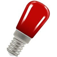 (1 Pack) Lamps LED Pygmy 1.3W SES-E14 Coloured IP65 (15W Equivalent) Red SES Small Screw E14 Sign Festoon Outdoor Light Bulb - Crompton