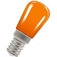 Lamps LED Pygmy 1.3W SES-E14 Coloured IP65 (15W Equivalent) Amber SES Small Screw E14 Sign Festoon Outdoor Light Bulb - Crompton