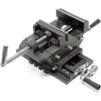 Cross Slide Drill Press Vise X-Y Clamping bench Milling Machine 125mm - WILTEC