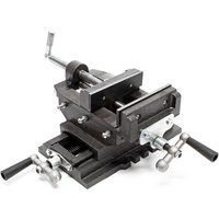 Cross Slide Drill Press Vise X-Y Clamping bench Milling Machine 150mm - WILTEC
