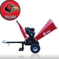 Vulture 15hp Petrol Wood Chipper Shredder Mulcher - Crytec