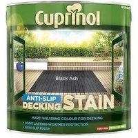 Cuprinol 5122405 Anti Slip Decking Stain Black Ash 2.5 Litre