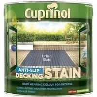 5122407 Anti Slip Decking Stain Urban Slate 2.5 Litre - Cuprinol